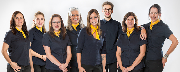 Rezeptions-Team